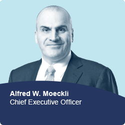Alfred W. Moeckli, Chief Executive Officer