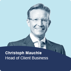 Christoph Mauchle, Head of Client Business